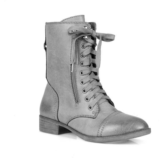 f4dc49283 Mark and Maddux Shoes | Morgan Lace Up Womens Combat Boots | Poshmark